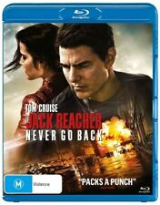 Jack Reacher - Never Go Back (Blu-ray, 2017)