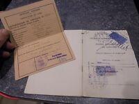 Anciens Timbres Fiscaux Permis Conduire International 1934 Autorisation Circuler