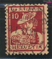 Schweiz 132 geprüft gestempelt 1916 Pro Juventute (9036600