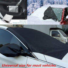 Car Truck Windshield Snow Sun Ice Frost Cover with Mirror Protector Waterproof