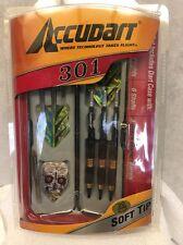 Accudart 301 Dart Set - Soft Tips. D2016  New