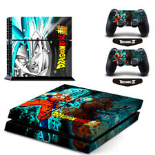 Dragon Ball Super Vinyl Decal Cover Sticker for PS4 Console & 2 Controllers