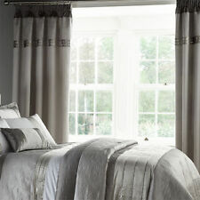 Catherine Lansfield Polyester Embroidered Curtains & Pelmets