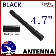 For Suzuki Swift AM FM Radio Signal Aerial 12cm Black Short Carbon Fiber Antenna
