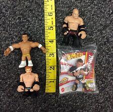 WWE Rumblers The Miz 2013 SDCC, Kane, Sheamus, Alberto Del Rio Mixed Lot Used