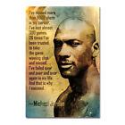 Motivational Poster Michael Jordan Success Quotes Picture Basketball Print