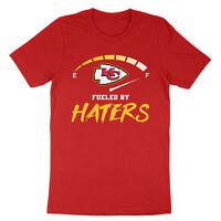Kansas City Champions Unisex T-Shirt Fueled by Haters Chiefs Super Bowl LIV 54