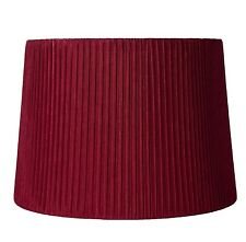 "Urbanest Box Pleated Drum Lampshade,10"" x 12"" x 8.5"",Spider Fitter 7 colors"