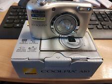 Nikon Coolpix A10 16.1MP Compact Digital Camera - Silver