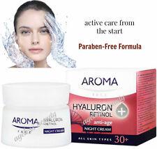 PURE RETINOL VITAMIN A + HYALURONIC ACID NIGHT Cream Wrinkle Collagen Firm 50ml