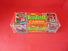 FOOTBALL 528 CARDS TOPPS 1990 Complete Factory Sealed Set NFL