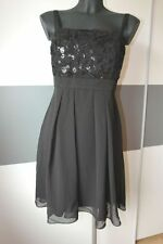 Abendkleid von ashley brooke schwarz Gr.38 I9