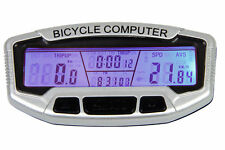 LCD Fahrradcomputer  Digital Fahrradtacho Kilometerzähler NEU G54