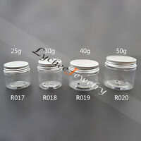 DIY Face Cream Cosmetic Bottle Jar Container Travel Makeup Pot Empty Rifillable