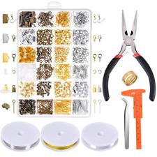 Beginners Jewelry Diy Kit Making Repair Tools For Bracelet Earrings Necklace New
