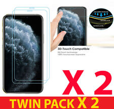 2xPACK For iPhone 11,PRO,PRO MAX 100% PREMIUM 9H TEMPERED GLASS SCREEN PROTECTOR