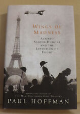 Wings of Madness: Alberto Santos-Dumont & the Invention of Flight - NEW HB w/DJ