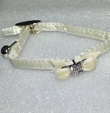 Soft Feel White/ 00004000 Off White Collar With Bell and Bling
