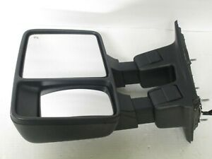 08-16 FORD F250 F350 SUPER DUTY TOWING SIGNAL MIRROR W/O COVER DRIVER LEFT LH