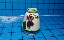 "Vintage Devon Violets Vase Perfume Bottle Made in Great Britain 2 3/8"" Tall *"