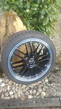 Borbet CW2 7 X 17 4 X 108 38 black rim polished