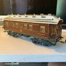Märklin Gauge 1 - Original 1932 Teak Holz Wagen 40 cm