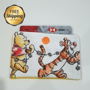 handmade winnie the pooh card holder wallet pouch tiger piglet present