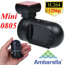 Ambarella Mini 0801 Pro 0805 Car Camera DVR Video HD 1296P Dash Cam GPS Logger
