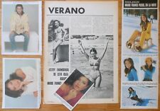 MARIE-FRANCE PISIER 1970s clippings photos french actress François Truffaut cine
