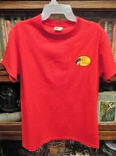 Mens BRASS PRO SHOP SHORT Sleeve T - SHIRT RED USED