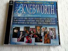 CD  LIVE AT KNEBWORTH 1990