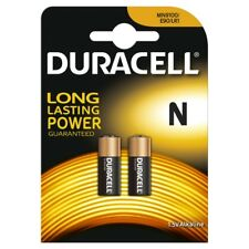 """NEW DURACELL N SIZE 2 PACK 1.5V / LR1 / E90 ALKALNE BATTERIES """"MN9100B2"""""""