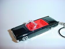 HOT 3D BLACK 1964 LINCOLN CONTINENTAL CUSTOM KEYCHAIN key keyring MATRIX NEO 007