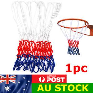Standard Basketball Net Nylon Thread Hoop Ring Rim Mesh Durable 12 Loops
