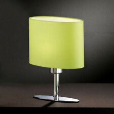 Lampe de table type LED chevet yimmi vert pomme abat-jour veilleuse nuit Honsel