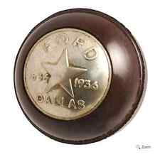 1936 Dallas Centennial Commemorative Gear Shift Knob FoMoCo Early Ford V-8