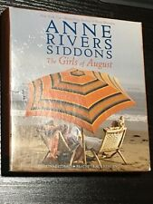 The Girls of August by Anne Rivers Siddons 2014 CD Unabridged