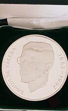 Irish Silver Commemorative Medal Centenary Eamon de Valera Limited edition Spink