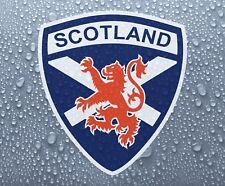 Scottish Scotland saltire red lion rampant vinyl decal sticker #1 - PRNT1012