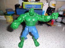 "Hulk Action Figure Mavel Film universel 2003 Smashing Mains 7"" Pantalon Bleu"