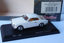 DETAILCARS ALFA ROMEO GIULLETA SPRINT COUPE 1960 1/43
