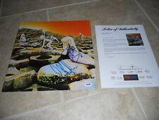 Led Zeppelin Robert Plant John Paul Jones Signed Autographed LP PSA Certified #1
