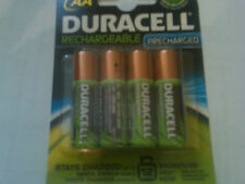 4 DURACELL.AA PRECHARGED RECHARGEABLE NiMH 1950 mAh 1.2V Batteries  DX1500 JAPAN