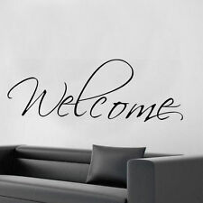 Welcome wall sticker wall art S8 decal quote living room