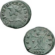 Probus Antoninian Ticinum 281 PAX AVGVST Zepter Helm Speer Schild RIC 517 var.
