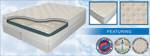 """KING 10"""" INNOMAX® HARMONY FIRM SLEEP AIR BED MATTRESS SET w/ 50 NUMBER REMOTES"""