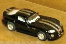 BLACK DODGE VIPER GTSR 1/72 SCALE DIE CAST NICE & NEW