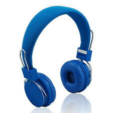 F6 POP Bluetooth Stereo Headphones Wireless Designer Headset Handsfree MIC Blue