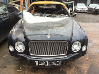 BENTLEY MULSANNE 6.75 PETROL V8 AUTO 2009 2016 Breaking Parts