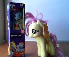 My Little Pony Rainbow Dash Doll Equestria Girls and a Fluttershy Plush TY
